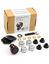 Steelmate ET-720BE LED Cigarette Lighter Wireless DIY TPMS, Tire Pressure Monitoring System, Air Car Tire Pressure