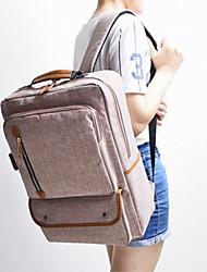 Fashion Unisex Canvas / Polyester Weekend Bag Backpack / Sports & Leisure Bag / Travel Bag-Multi-color