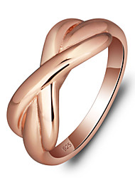 925 Sterling Silver Women Jewelry Fashion High Quality Rose Gold Plated Rings Perfect Gift For Girls