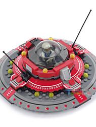 171pcs Models & Building Toy Jenga Plastic Diorama Assembly Model Plane Spaceship Miniature Toys 3d Model