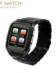TW810D Stainless  Steel Case&Strap/ GPRS Network/GSM Quad-Band Phone Call/Bluetooth Companion Smart Watch Phone