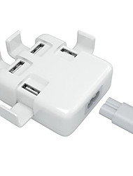 g.d.smith station de chargeur mural charge 4-usb rapide (nous plug)