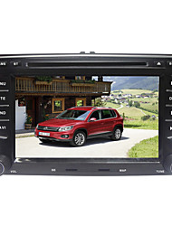 "7"" 2Din TFT Touch Screen In-Dash Car DVD Player With GPS,Bluetooth,FM;Support HD 720P,1080P,Steering Wheel Control"