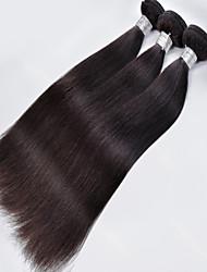 1Pcs/Lot Brazilian Virgin Hair Straight Hair Nautral Black 100% Human Hair Unprocessed Human Hair Weaves