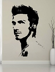 David Beckham Vinyl Home Decoration Bedroom/Liveing Room Wall Stickers Wall Decals Art Home Decor