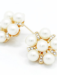 Sweet Pearl Seafish Stud Earrings Jewelry