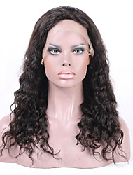 "8""-26"" Brazilian  Virgin Hair Loose Wave  Full Lace Wig&Lace Front Wig Multicolor optional  With Baby Hair for  Women"