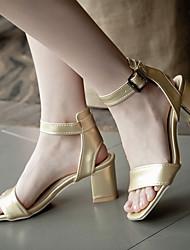 Women's Shoes Heel Heels / Peep Toe Sandals / Heels Outdoor / Dress / Casual White / Silver / Gold/789