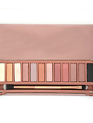 Eyeshadow  12 Colors Palette Eye Shadow Urban Nude Makeup Brush