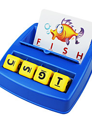 Children Early Childhood Matching Letters of Collocation Look Learn English Alphabet Toy Set