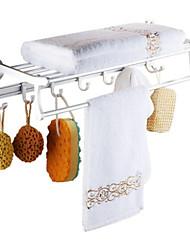 Calentador de Toallas,Contemporáneo Anodizado Montura en Pared