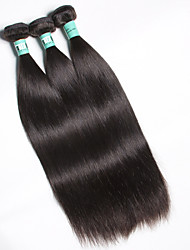 "3 Pcs /Lot 8""-30"" Malaysian Virgin Hair Straight Hair Weft 100% Unprocessed Remy Human Hair Weaves"