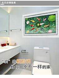 Animals / Botanical / Still Life / Florals / Landscape Wall Stickers Plane Wall Stickers,PVC 60*90CM
