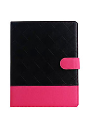 Mixed Double Colors Flip Cover Case for iPad 2/3/4