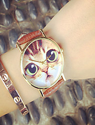 Hot Selling Watches! Women'S Watches Cute Cat Watch,Cat Watches ,Geneva Watch Leather Quartz Watches Cool Watches Unique Watches