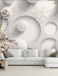 JAMMORY Art Deco Wallpaper Contemporary Wall Covering,Other Elegant Flowers Large Mural Wallpaper