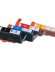 bloom®564bk / c / m / y kompatible Tintenpatrone für PS d5445 / c5370 / C6350 / d7560 / 5525/6512 / c410a voller Tinte (4 Farbe 1 Satz)