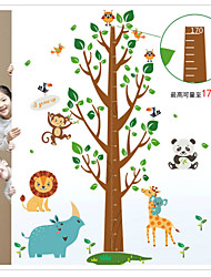 SK2001AB Removable Wall Stickers Height Measure For Kids Room Wall Decal Home Decals