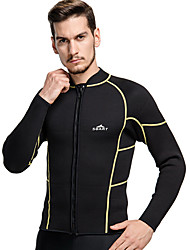 tops(Amarelo / Preto) -Homens-Resistente Raios Ultravioleta-Natação / Mergulho