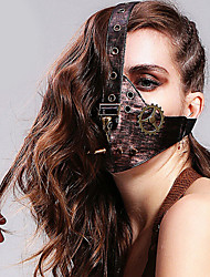 Punk Faction Cosplay Lolita Leather Mask