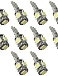 Sagitar etc 12V 2.5W 5050 5SMD LED Can-bus Error Free LED Reading Lamp, LED Door Lamp 10PCS per Package