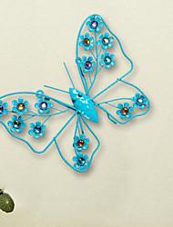 Europäische kreative Heimat Innenwände, Schmiedeeisen Wand die Rolle wirken ofing Schmetterling