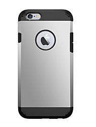 Para iPhone X iPhone 8 iPhone 6 iPhone 6 Plus Carcasa Funda Antigolpes Cubierta Trasera Funda Armadura Dura Policarbonato para iPhone X