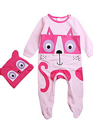 Girl Cotton Overall & Jumpsuit,Winter Long Sleeve