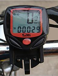 Computadores de Bicicleta(Preta,Plástico / ABS) -Max - Velocidade Máxima / ODO -Odômetro / Velocidade Actual - SPD / DST - Distância de