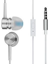 HARBER S-30 In-Ear High-Performance Metal Headphone with Remote and Mic for MP3 Players, XIAOMI and IPODS