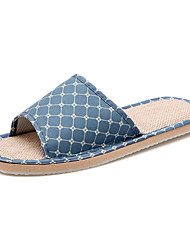 Men's Shoes Casual Slippers / Espadrilles Blue / Brown
