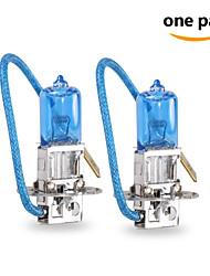 2 pcs Gmy 55w 1450 ± 15% lm 3800K halogène h3 éclairage de la voiture 12v bleu