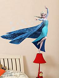 Bande dessinée Stickers muraux Stickers muraux 3D Stickers muraux décoratifs,PVC Matériel Amovible Décoration d'intérieur Wall Decal