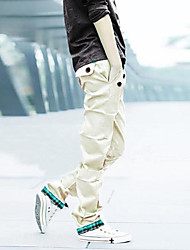 Men's Single Belt Casual Pants