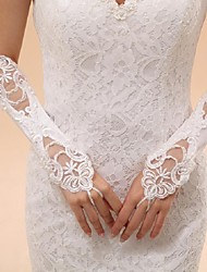 Elbow Length Fingerless Glove Tulle Bridal Gloves / Party/ Evening Gloves