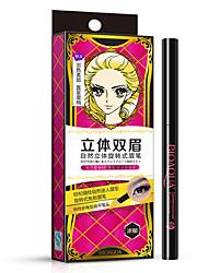 Bioaqua® Eyeliner Liquid Wet Long Lasting / Fast Dry Black Eyes/Black/Brown/Light Brown 1Pc