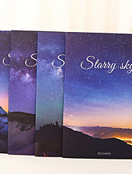 1PC High School Starry Sky Class Laptop Wrong Topic This Student A5 Soft Notepad (Style random)