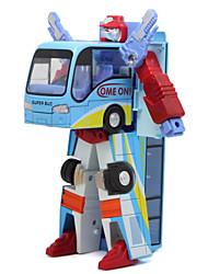 дети головоломки масштабные модели диорама автобус автоботы деформации игрушки для детей