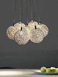 Lampe suspendue ,  Contemporain Plaqué Fonctionnalité for Style mini Métal Salle de séjour Chambre à coucher Salle à manger