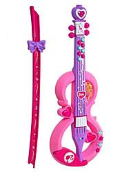 Violinform Kunststoff pink / lila Musik Spielzeug für Kinder