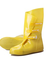 Women's / Men's Rain Boots Rubber Outdoor Low Heel Black / Blue / Yellow