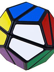 LanLan® Cubo velocidad suave Alienígena Velocidad Cubos Mágicos Negro ABS