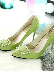Women's Shoes Leatherette Stiletto Heel Heels Heels Wedding / Party & Evening