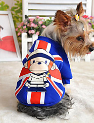 High Qulitity Lovely Monkey Printing Pet Coat