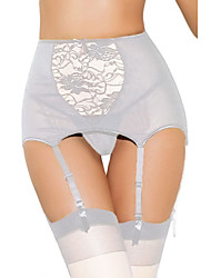 High-waisted Lace Hollow-out Garter Belt