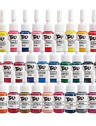 basekey tatouage ou le maquillage couleurs d'encre 28 x 5ml