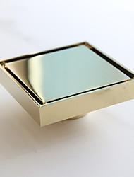Scarico Oro Altro 10*10*5.3cm Ottone Moderno