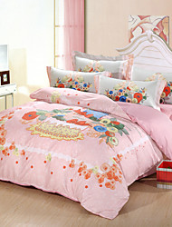 Multi Color Poly/Cotton Full Duvet Cover Sets