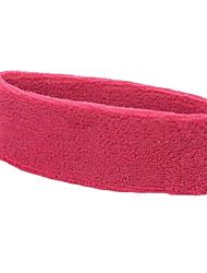 puro ejercicio de algodón sudor diadema para el yoga / runing (color al azar)