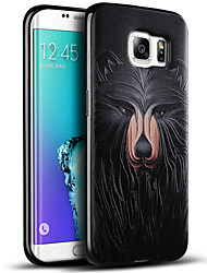 Black Bear Soft Protective Back Cover Samsung Case for Galaxy S7/S7edge/S6/S6edge